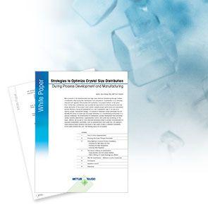 Strategien zur Kontrolle der Kristallgrössenverteilung