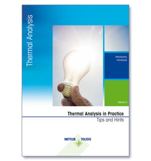 Download the new thermal analysis Tips and Hints Handbook or request a printed version