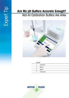 pH buffer accuracy