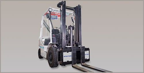 VFS120 Forklift Scale - Robust, Safe, Accurate Weighing of Pallets