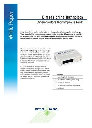 White Paper: Dimensioning Technology