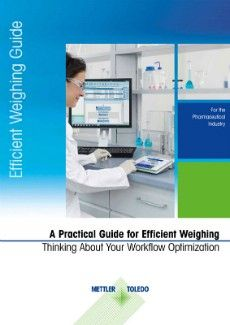 Practical guide for efficient weighing cover