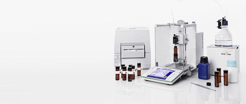 Gravimetric sample preparation