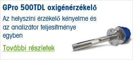 GPro 500TDL oxigénérzékelő