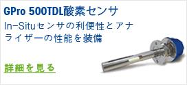 GPro 500 TDL 酸素センサ