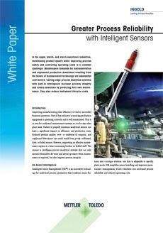 Höhere Prozesszuverlässigkeit durch intelligente Sensoren