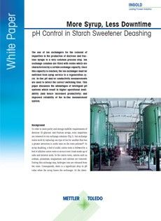 White Paper: More Syrup, Less Downtime