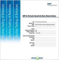 Standard Operating Procedures (SOP's) for Balance Testing