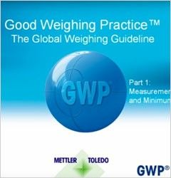 Good Weighing Practice™ - The Global Weighing Guideline - Teil 1: Messunsicherheiten und Mindesteinwaage