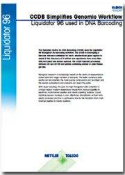 CCDB 简化基因组学工作流程,DNA 条形码