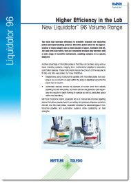 New Liquidator 96 Volume Range