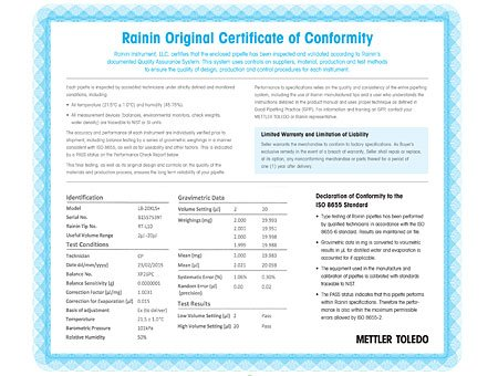 Calibration and certificates mettler toledo ensure compliance yelopaper Choice Image