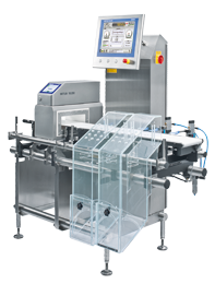 CM3570 checkweigher and metal detector combination system