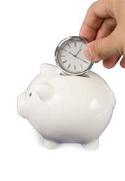 Piggy bank - Save time, money and space with combination systems