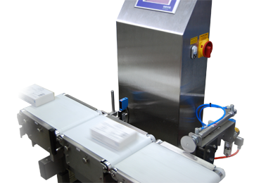 XC Series checkweigher in production environment