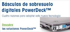 Báscula de sobresuelo PowerDeck PFD774