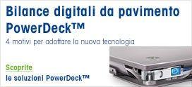 Bilancia da pavimento PFD774 PowerDeck