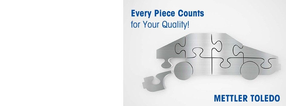 Every Piece Counts for Your Quality!