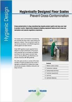 Prevent Cross-Contamination with Hygienic Floor Scales