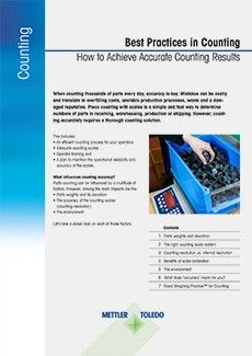 White Paper: Best Practices Counting