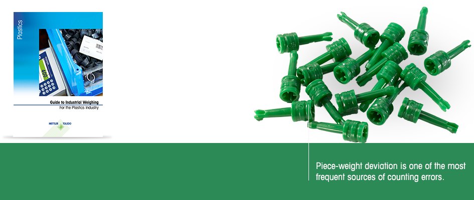 Guide to Weighing in Plastic Parts and Components Manufacturing