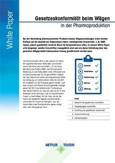 Auflagenkonformität in der Pharmabranche