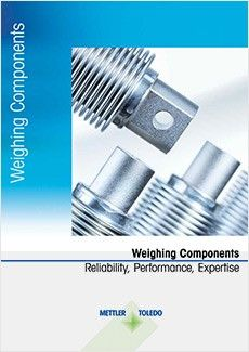 Free Brochure about Weighing Components for Instruments and Machines