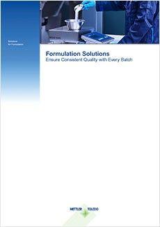 Formulation eBook - Ensure Consistent Formulation Quality with Every Batch