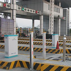 Automatic weighing system of highway toll station