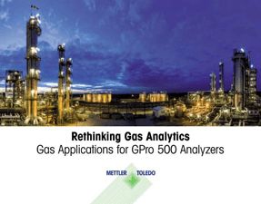 Gas Applications for GPro 500 Analyzers