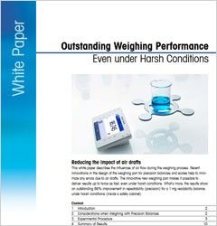 Outstanding Weighing Performance – Even Under Harsh Conditions