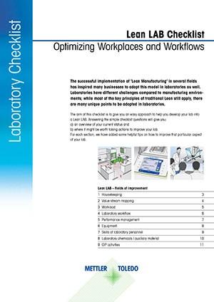 Lean Laboratory Checklist