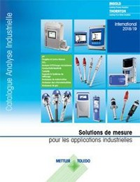 Catalogue pour l'analyse industrielle