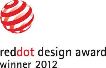 Red dot award der Kategorie product design