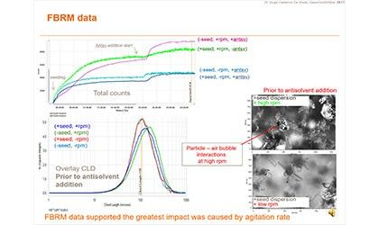 Agglomeration & Crystallization Using Particle Measurement