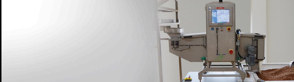 Sistemi di ispezione a raggi-X per alimenti sfusi
