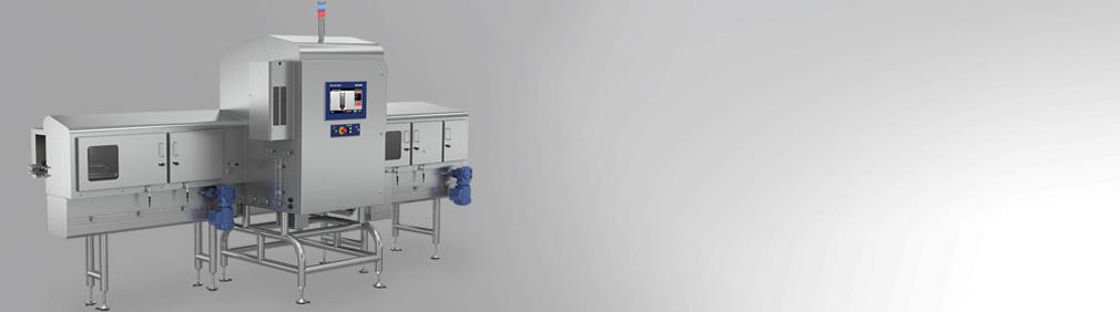 Ispezione a raggi-X per contenitori di vetro