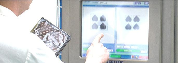 Inspección de productos de METTLER TOLEDO