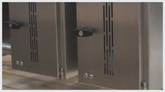 Electro-mechanical catch bin locks