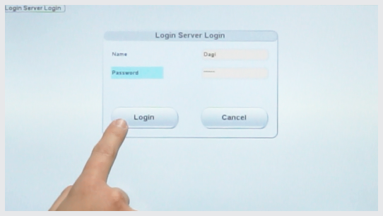 Process safety/reliability by use of Login-Server