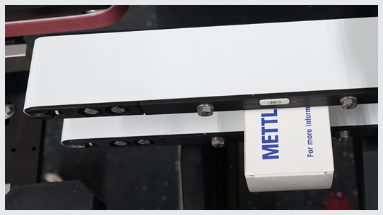 Top and Bottom belt conveyor for smooth transfer
