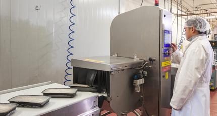 Controlli di qualità e sicurezza a raggi-X