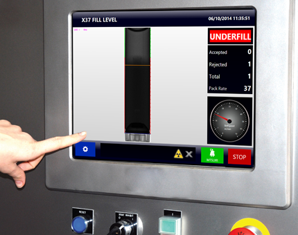 Fill Level Inspection Using X-Ray Technology