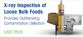 X-ray Inspection of Loose Bulk Foods