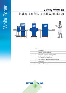 Reduce The Risk of Non-compliance