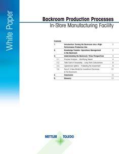 White Paper zur Fertigung im Fleischvorbereitungsraum