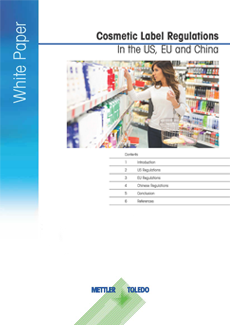 Cosmetic Label Regulations in the US, EU and China – Free Download