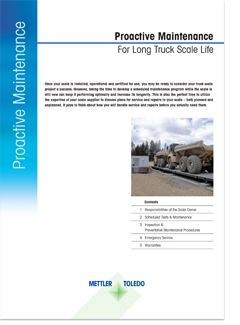 What you need to know: Proactive Maintenance for Long Truck Scale Life