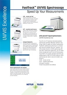 UV5 and UV7 Spectrophotometers