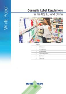 Märkningsregler för kosmetika i USA, EU och Kina